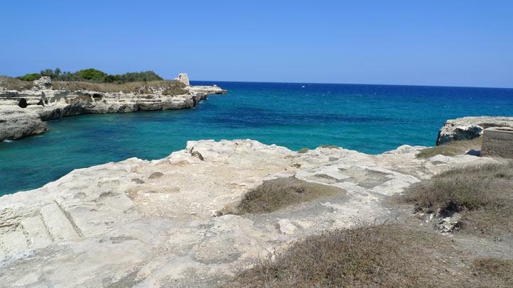 Campingurlaub Apulien Italien Bucht Salento